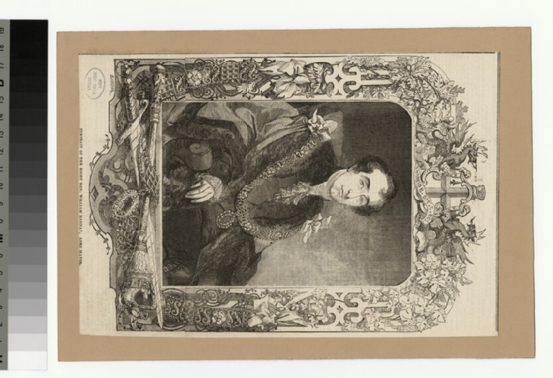 Portrait of W. Magnay