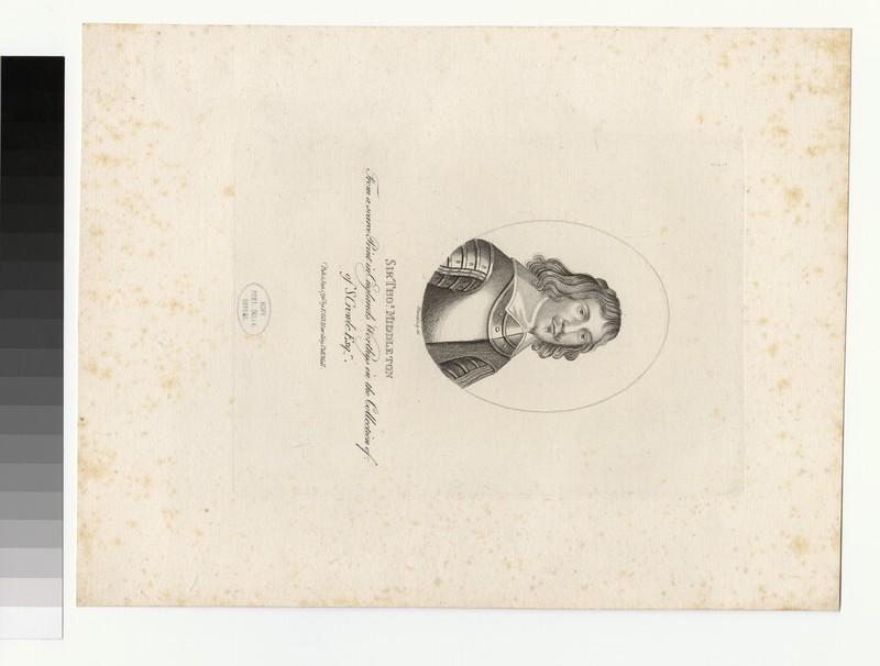 Portrait of T. Middleton