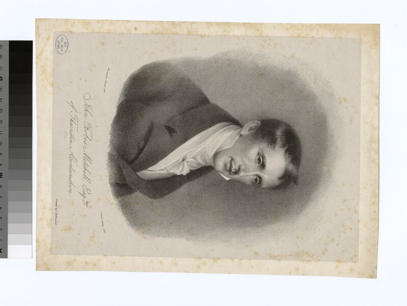 Portrait of J. F. Mitchell