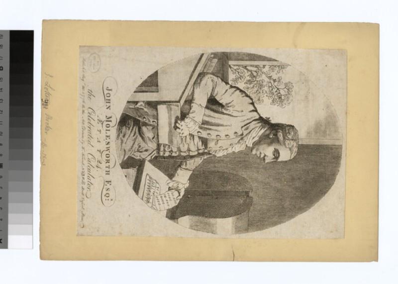 Portrait of J. Molesworth (WAHP27940)