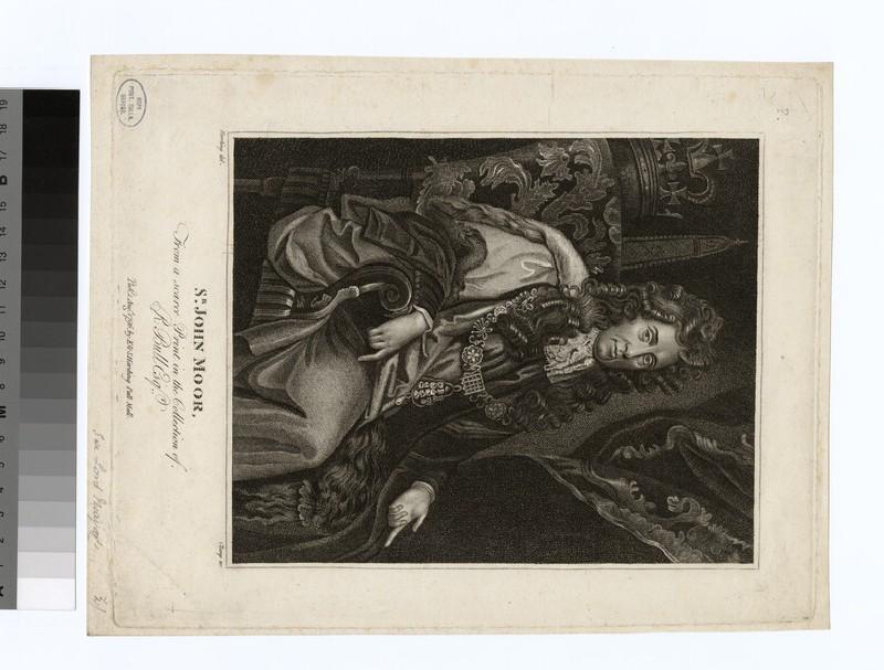 Portrait of J. Moor (WAHP27956)