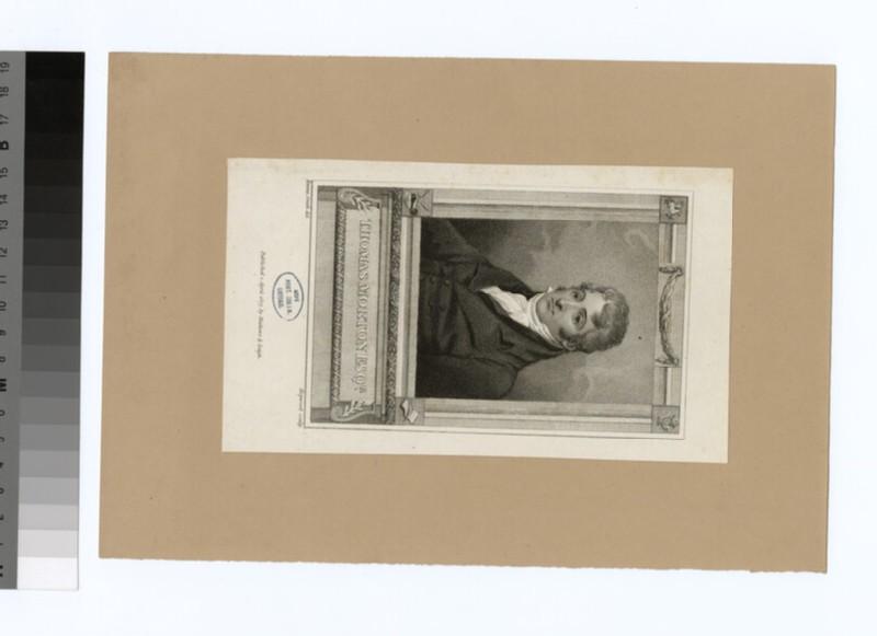 Portrait of T. Morton