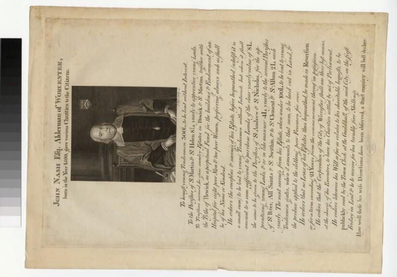 Portrait of J. Nash