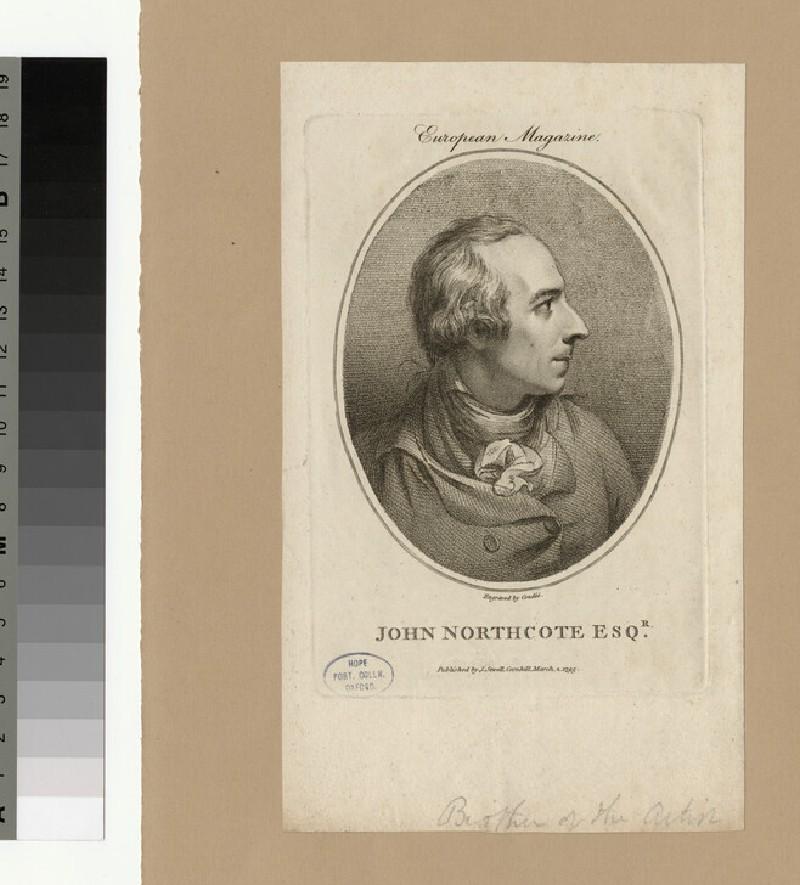 Portrait of J. Northcote (WAHP28050)