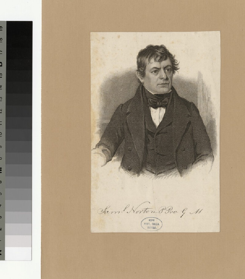 Portrait of S. Norton (WAHP28055)
