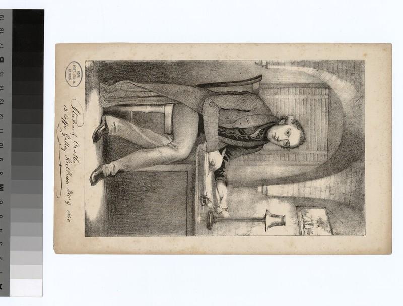 Portrait of R. Oastler