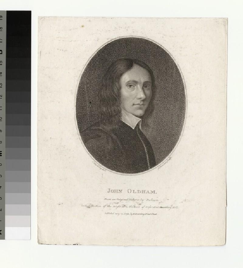 Portrait of J. Oldham
