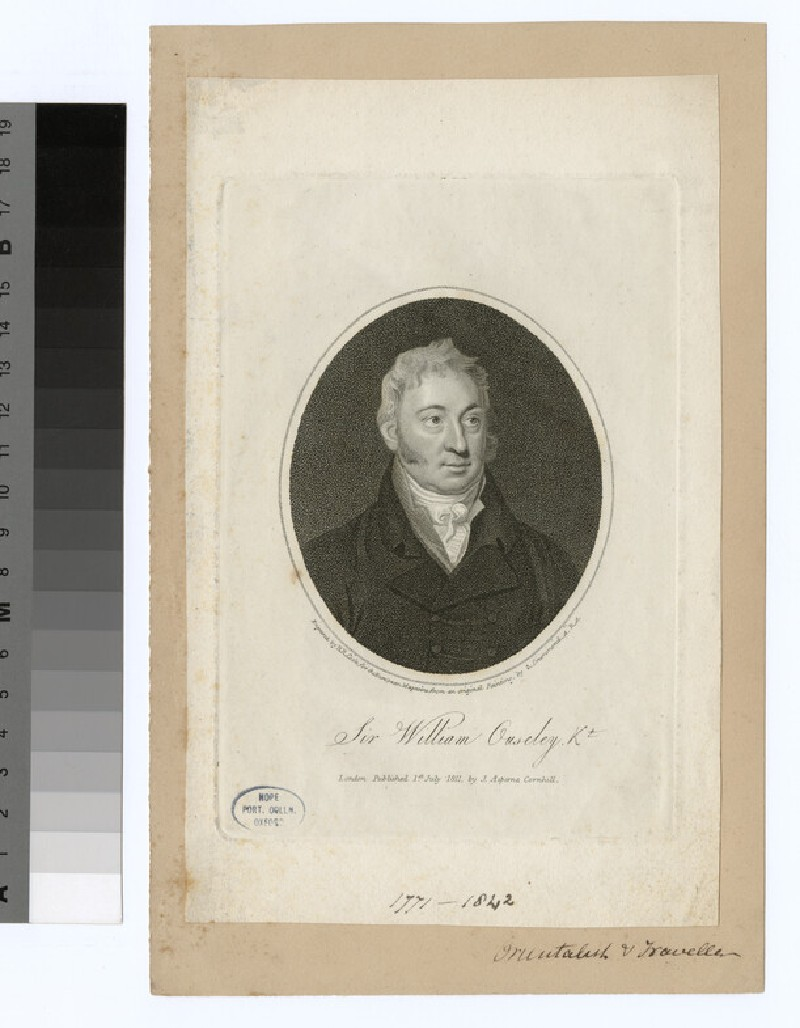 Portrait of W. Ouseley (WAHP28106)