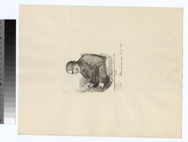Portrait of W. G. Ouseley (WAHP28107)