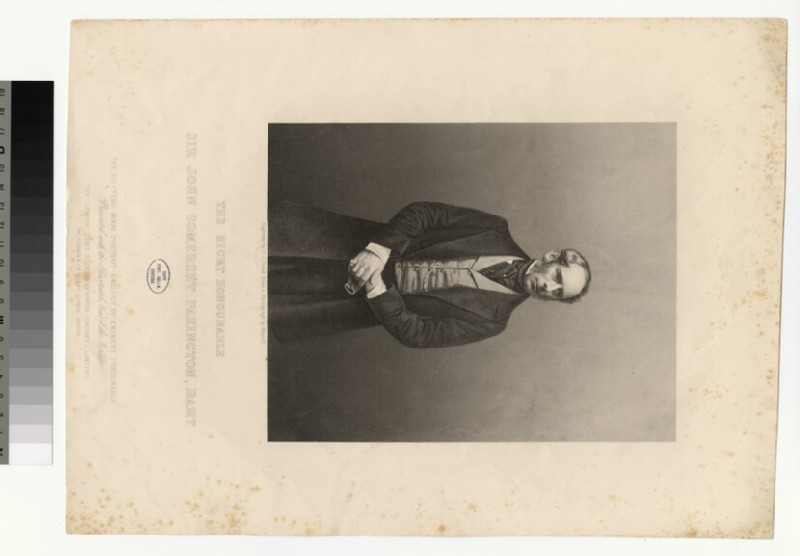 Portrait of J. S. Pakington