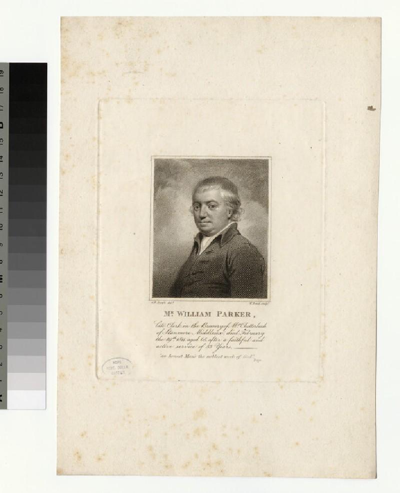 Portrait of W. Parker