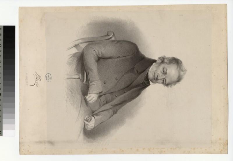 Portrait of J. Pavin (WAHP28154)