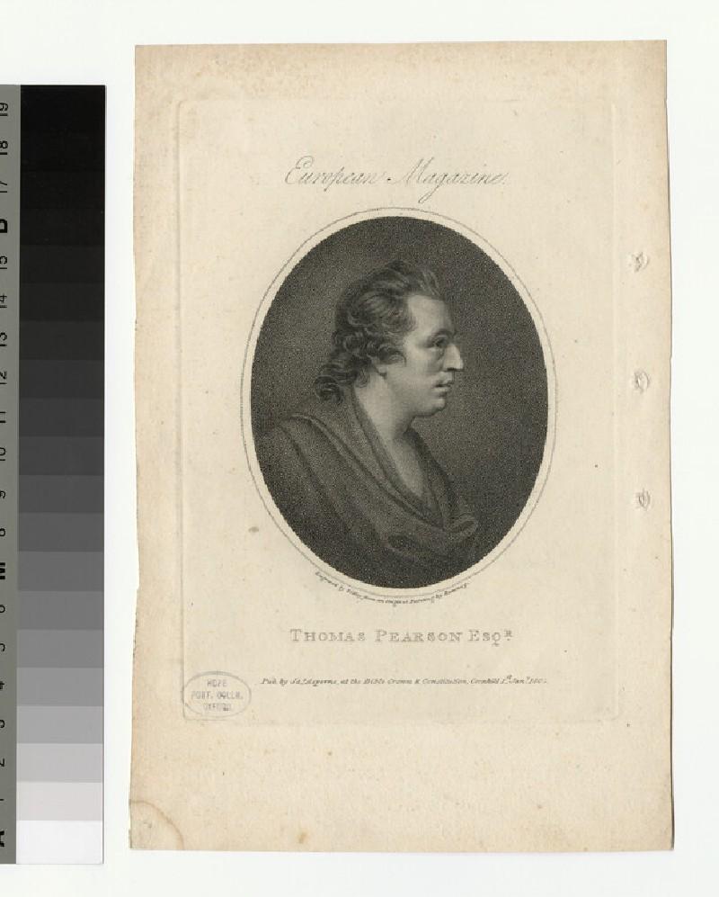Portrait of T. Pearson