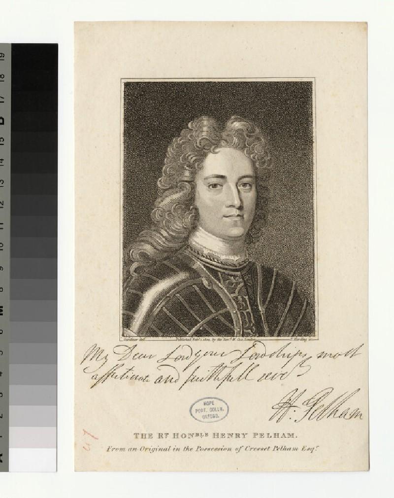 Portrait of H. Pelham