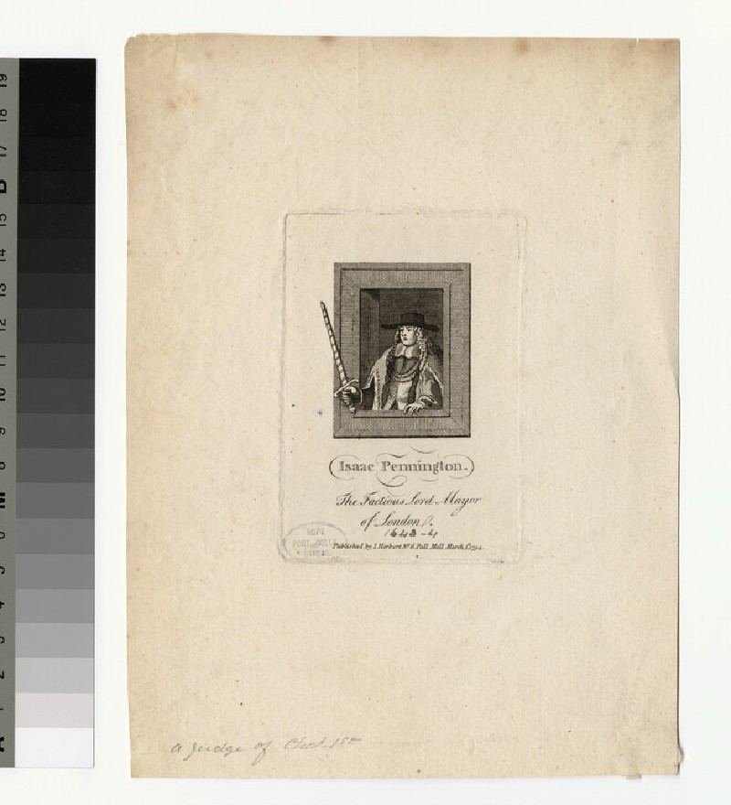 Portrait of I. Pennington