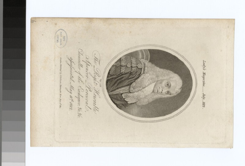 Portrait of S. Perceval (WAHP28255)