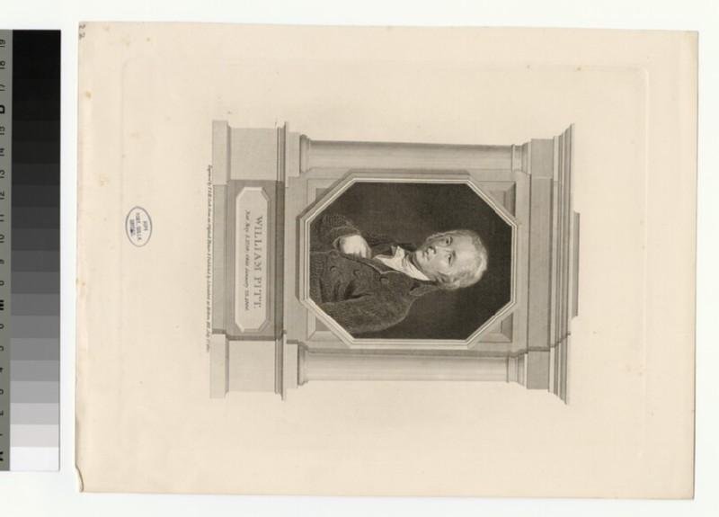 Portrait of W. Pitt (WAHP28293)