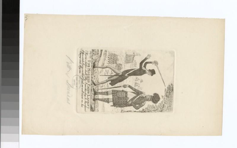 Portrait of W. Pitt and Dundas