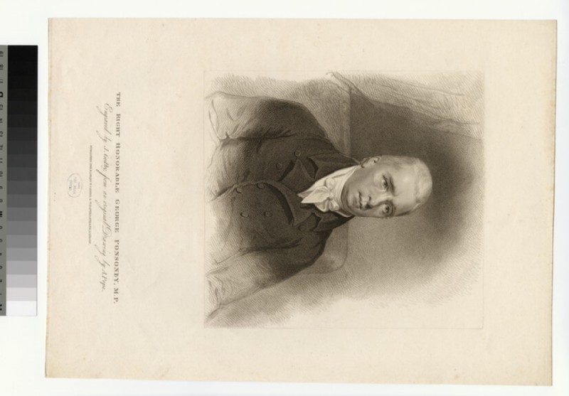 Portrait of G. Ponsonby (WAHP28347)