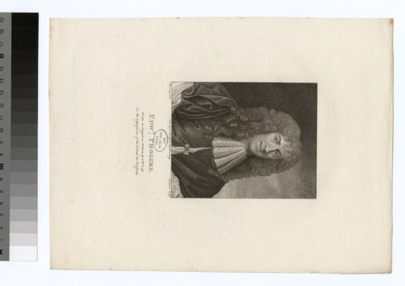 Portrait of E. Progers