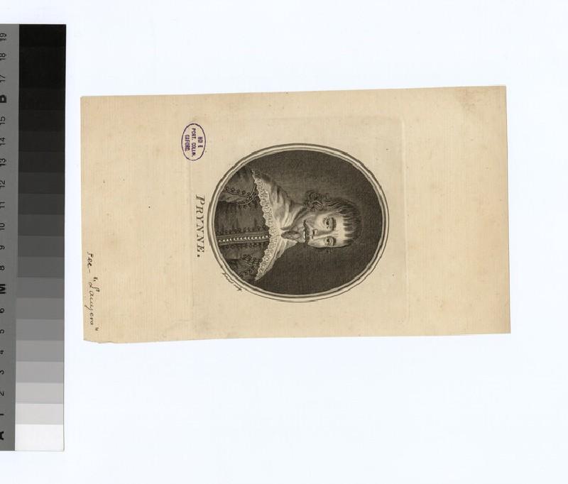Portrait of W. Prynne