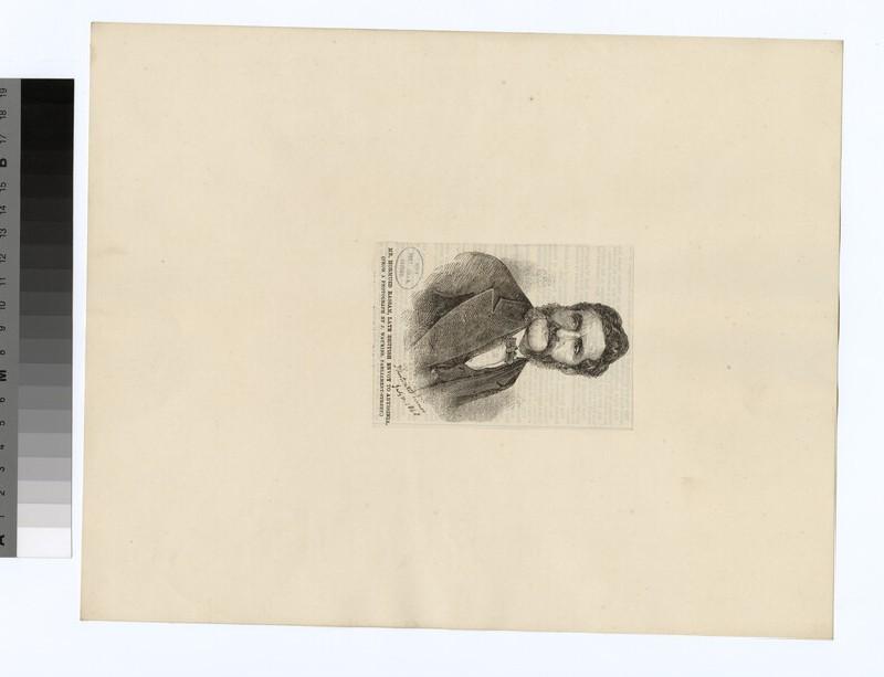 Portrait of H. Rassam (WAHP28468)
