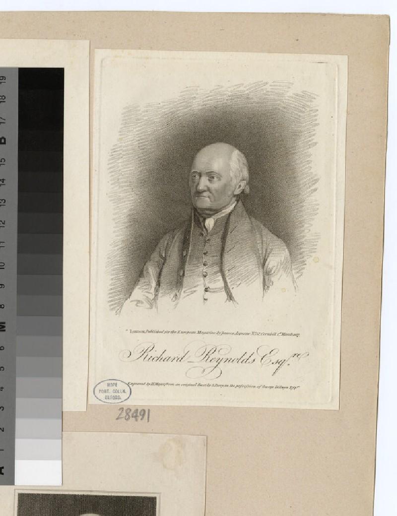 Portrait of R. Reynolds (WAHP28491)