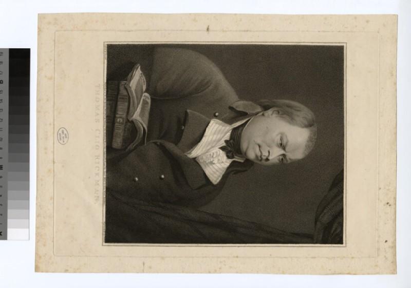 Portrait of T. C. Rickman