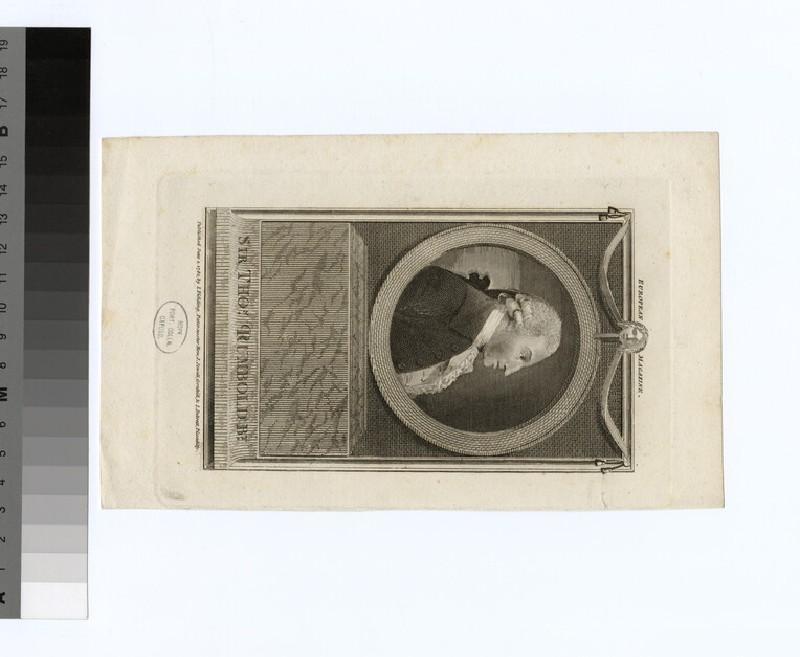Portrait of T. Rumbold