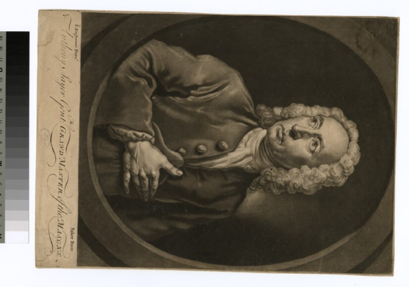 Portrait of A. Sayer