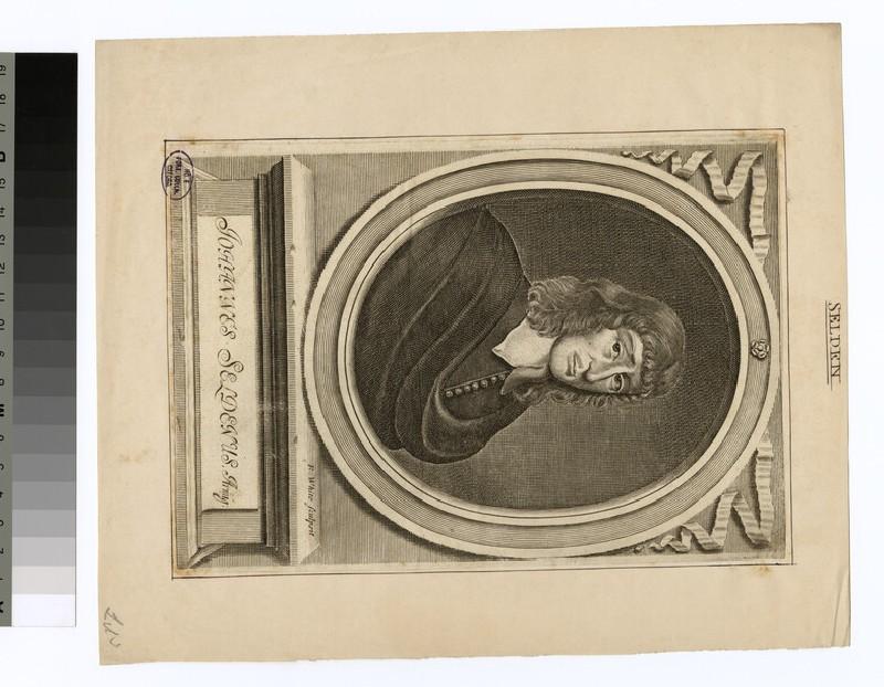Portrait of J. Selden