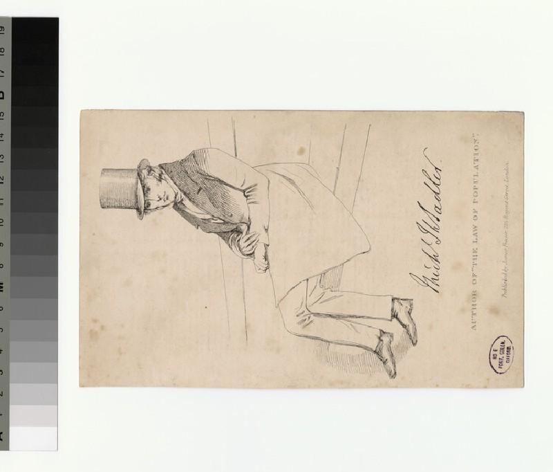 Portrait of M. T. Sadler (WAHP28599)