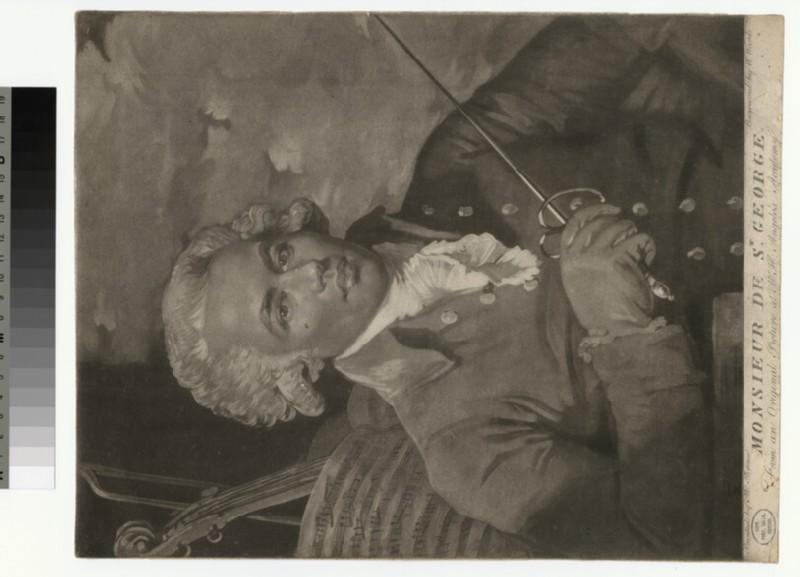 Portrait of Monsieur de St George