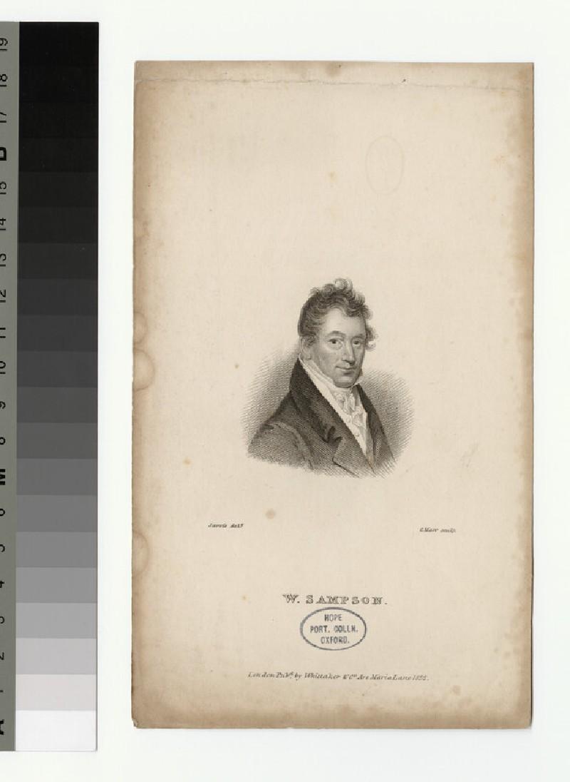 Portrait of W. Sampson