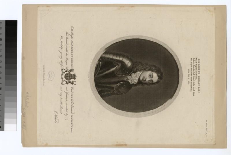 Portrait of Earl (Robert Shirley) Ferrers (WAHP28646)