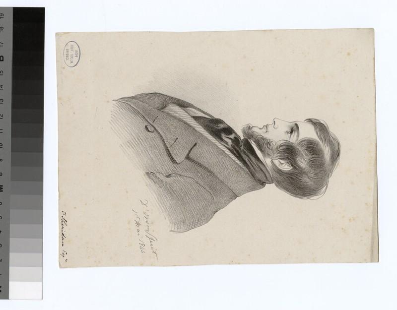 Portrait of F. Sheridan