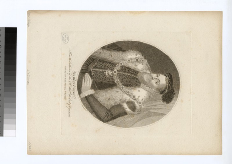 Portrait of H. Sidney (WAHP28678)