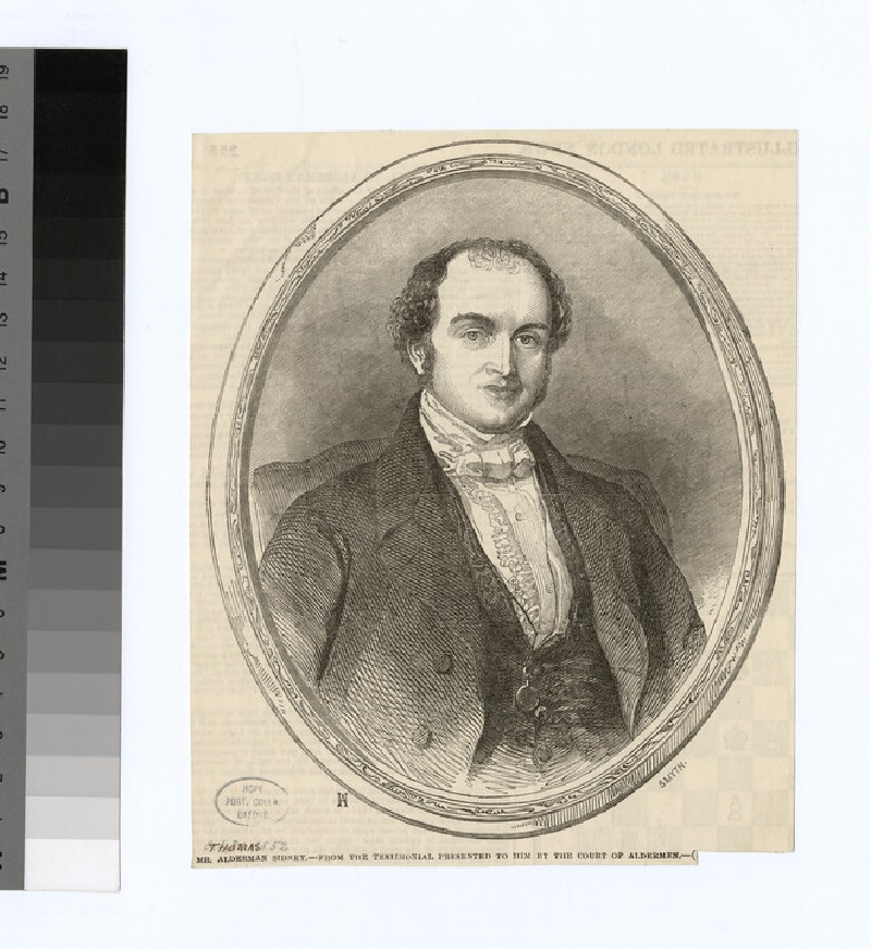 Portrait of T. Sidney (WAHP28680)