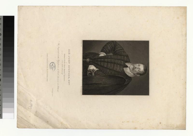 Portrait of J. Spencer