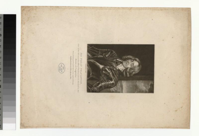 Portrait of P. Stapleton
