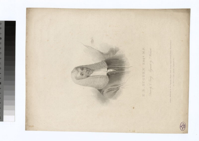 Portrait of E. B. Sugden