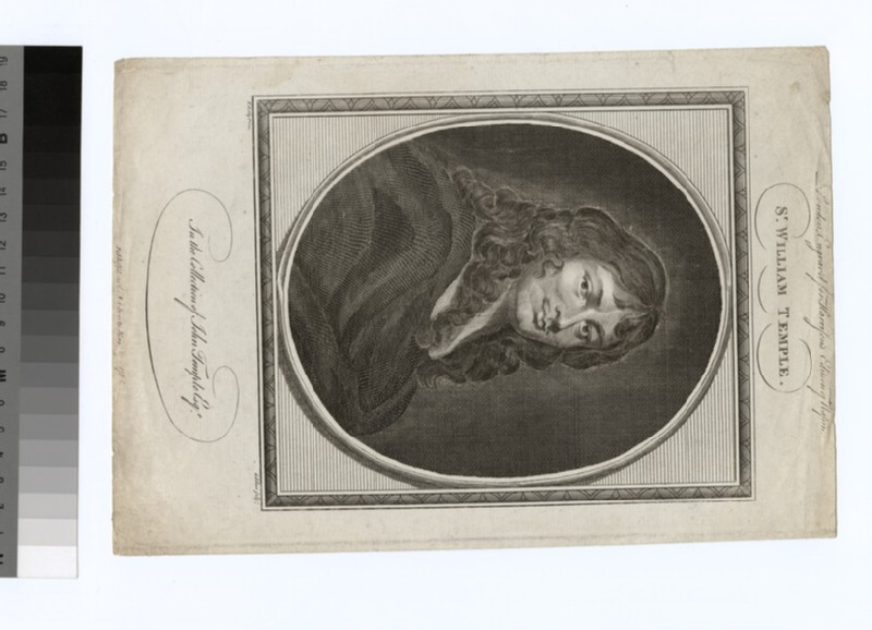 Portrait of W. Temple (WAHP28838)