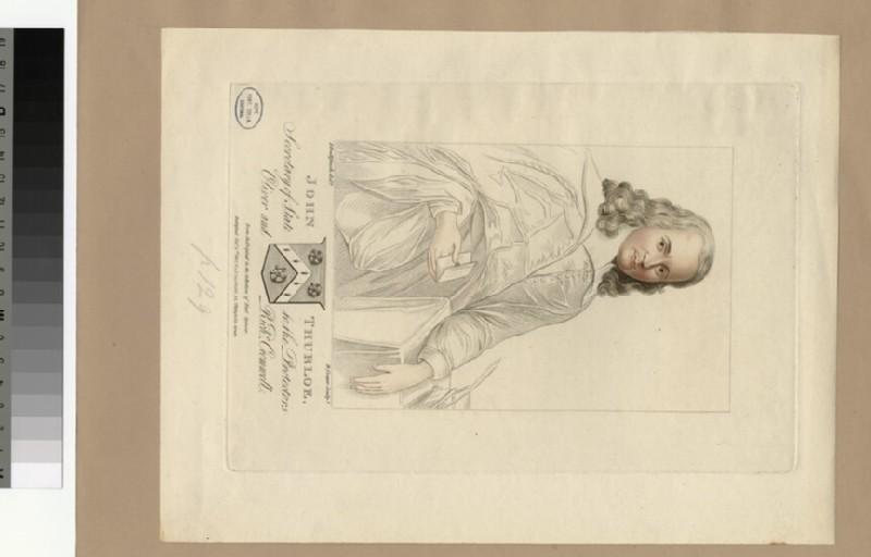 Portrait of J. Thurloe (WAHP28877)