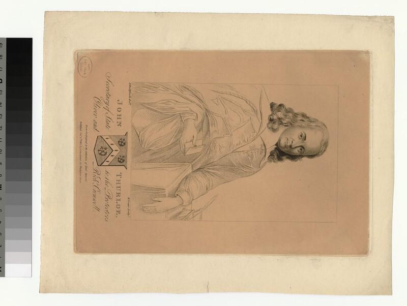 Portrait of J. Thurloe (WAHP28882)