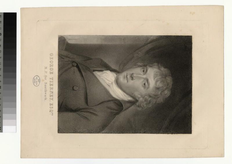 Portrait of G. Tierney (WAHP28890)