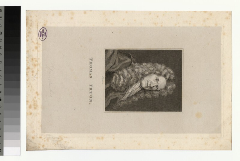 Portrait of T. Tryon (WAHP28923)