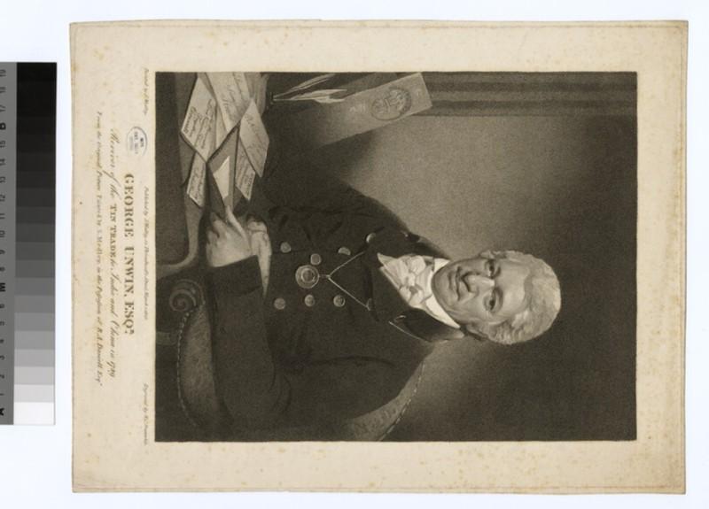 Portrait of G. Unwin