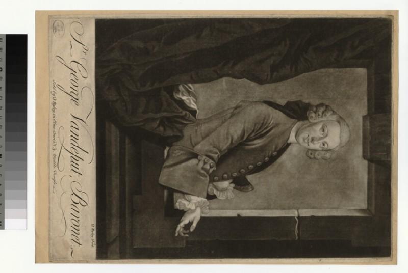 Portrait of George Vandeput (WAHP28972.1)