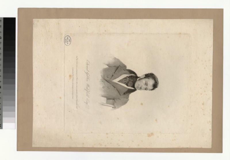 Portrait of E. G. Wakefield (WAHP29028)