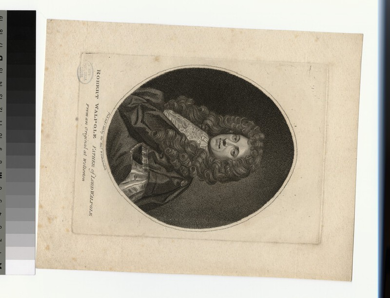 Portrait of R. Walpole